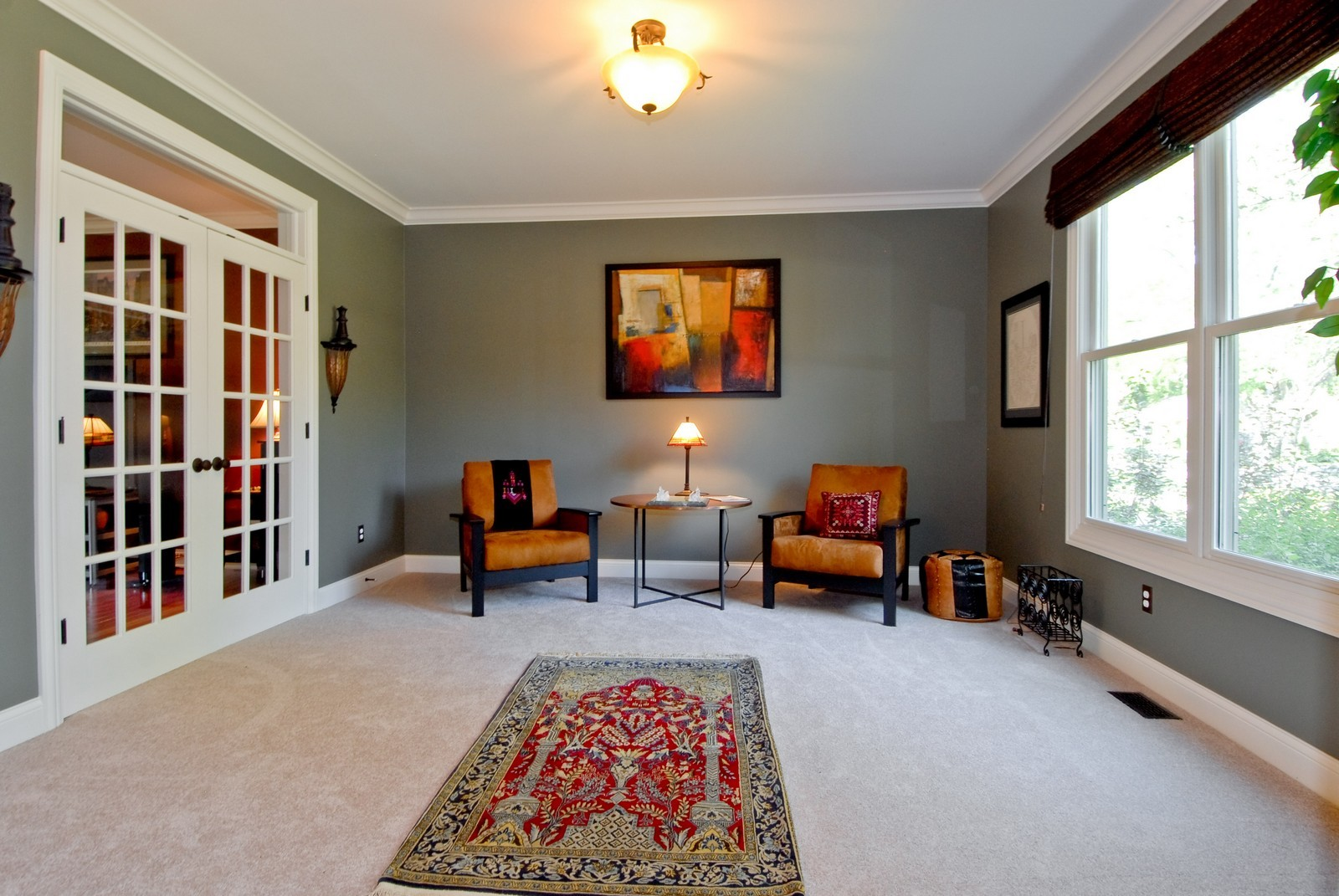 Real Estate Photography - 1221 Wing Ave, St. Charles, IL, 60174 - Living Room