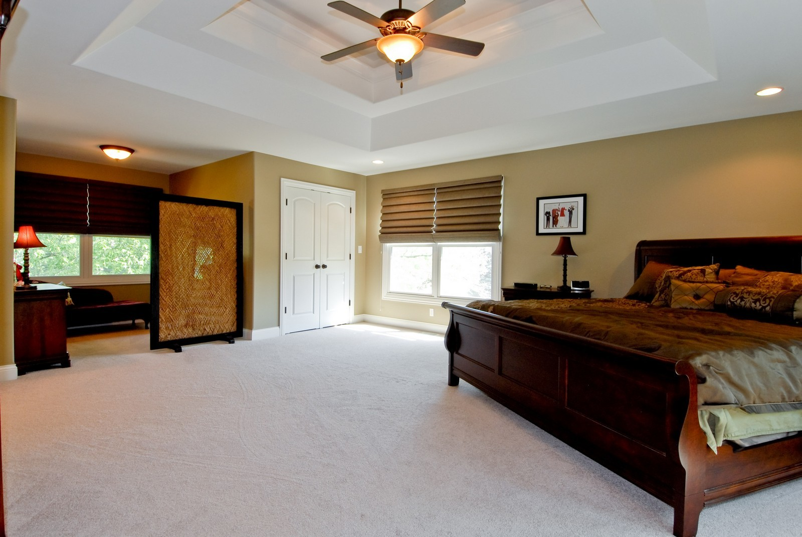 Real Estate Photography - 1221 Wing Ave, St. Charles, IL, 60174 - Master Bedroom