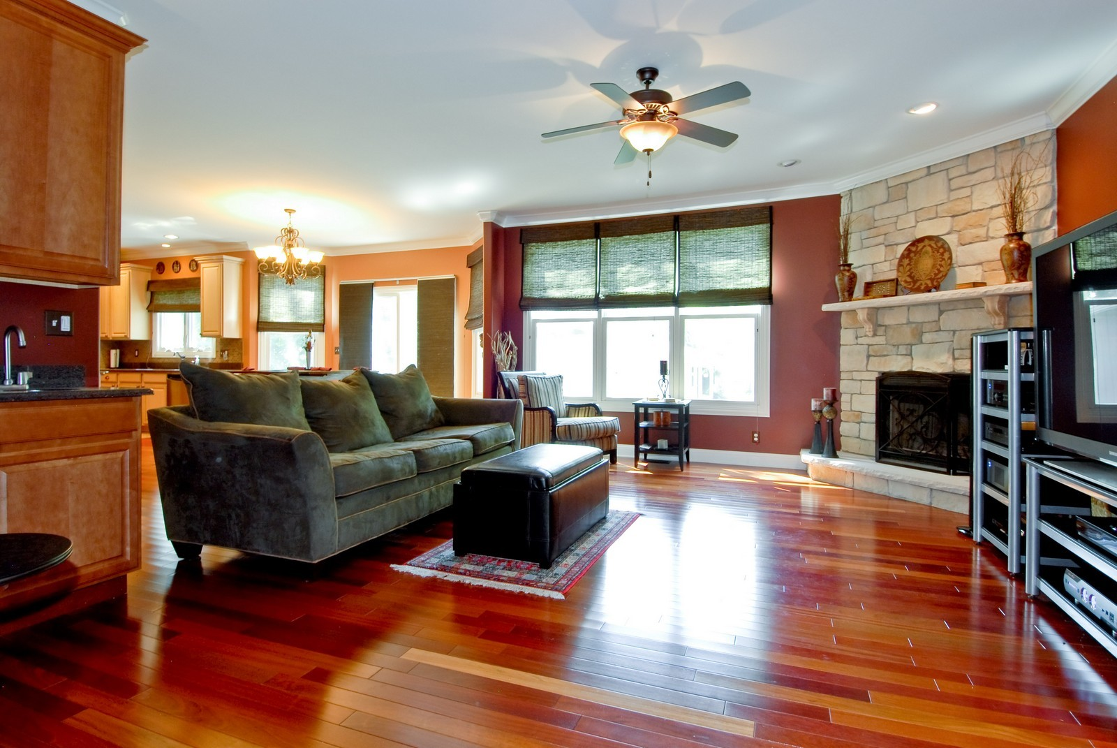 Real Estate Photography - 1221 Wing Ave, St. Charles, IL, 60174 - Family Room