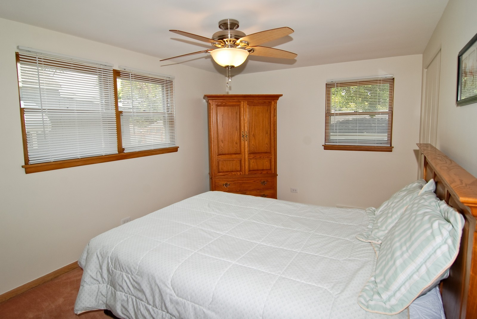 Real Estate Photography - 9118 30th Street, Brookfield, IL, 60513 - 2nd Bedroom