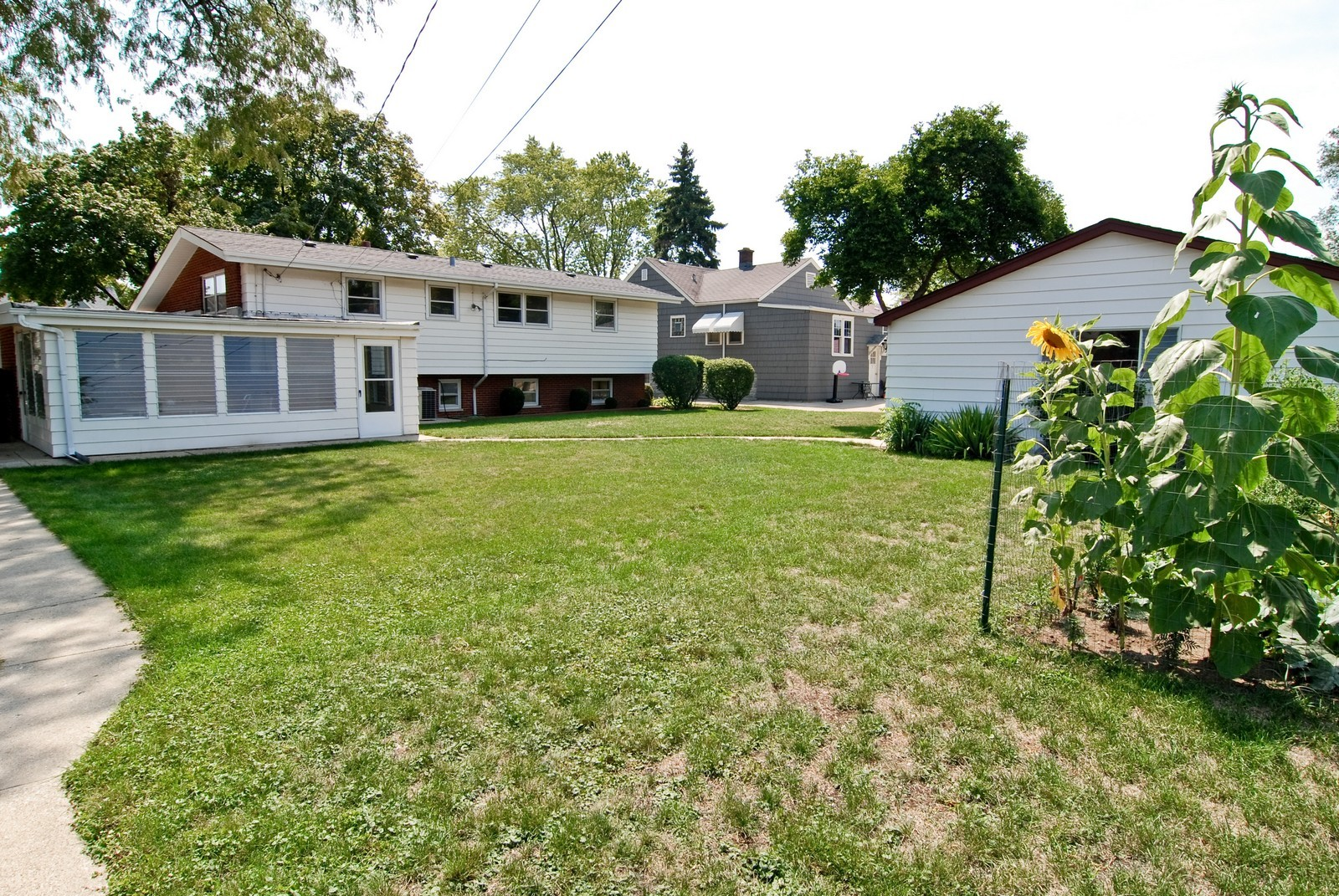 Real Estate Photography - 9118 30th Street, Brookfield, IL, 60513 - Rear View