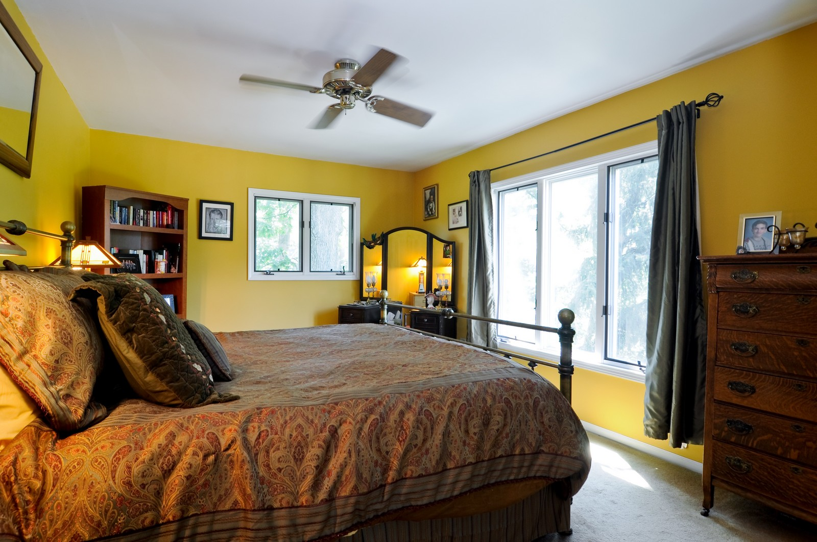 Real Estate Photography - 23823 N Sunset, Lake Zurich, IL, 60047 - Master Bedroom