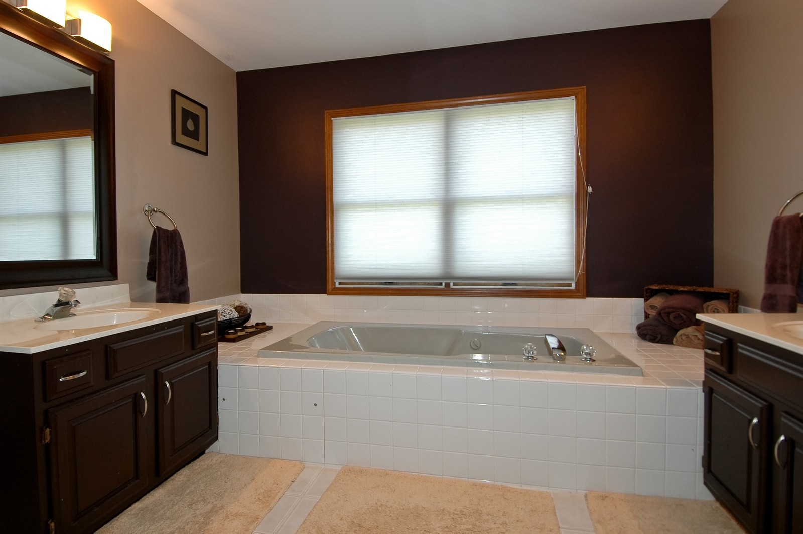 Real Estate Photography - 718 Bayberry, Cary, IL, 60013 - Master Bathroom