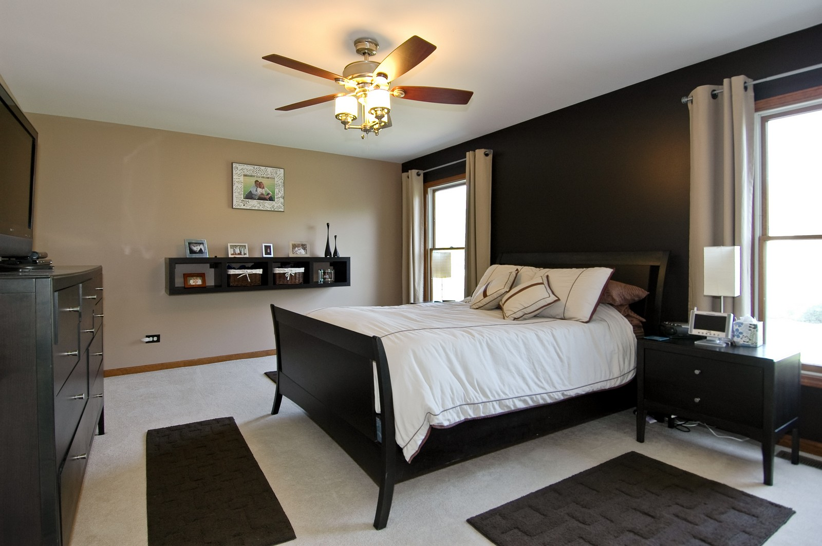 Real Estate Photography - 718 Bayberry, Cary, IL, 60013 - Master Bedroom