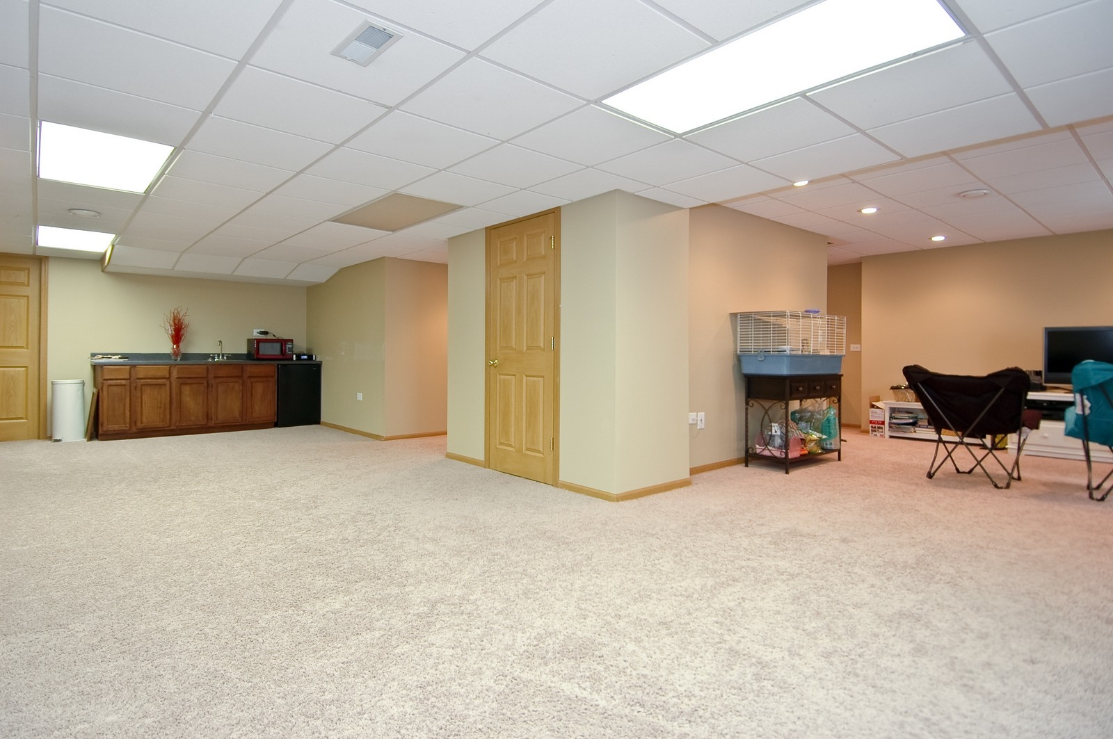 Real Estate Photography - 903 KING JAMES, ST CHARLES, IL, 60174 - Lower Level