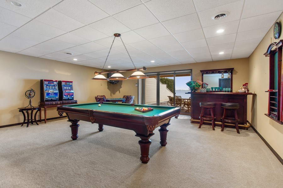 Real Estate Photography - 10946 N SOUTHSHORE DRIVE, SYRACUSE, IN, 46567 - Recreational Room