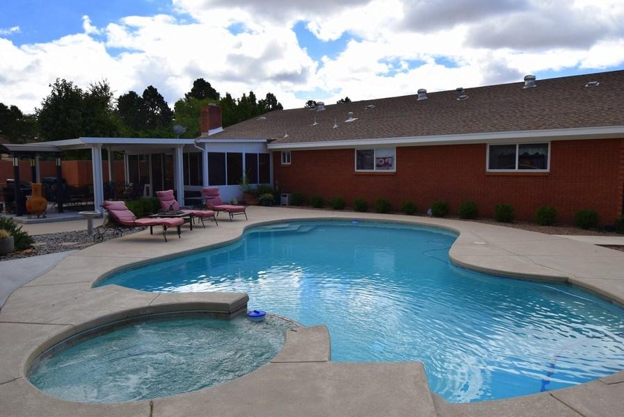 Real Estate Photography - 1419 Catron SE, Albuquerque, NM, 87123 - Back Yard