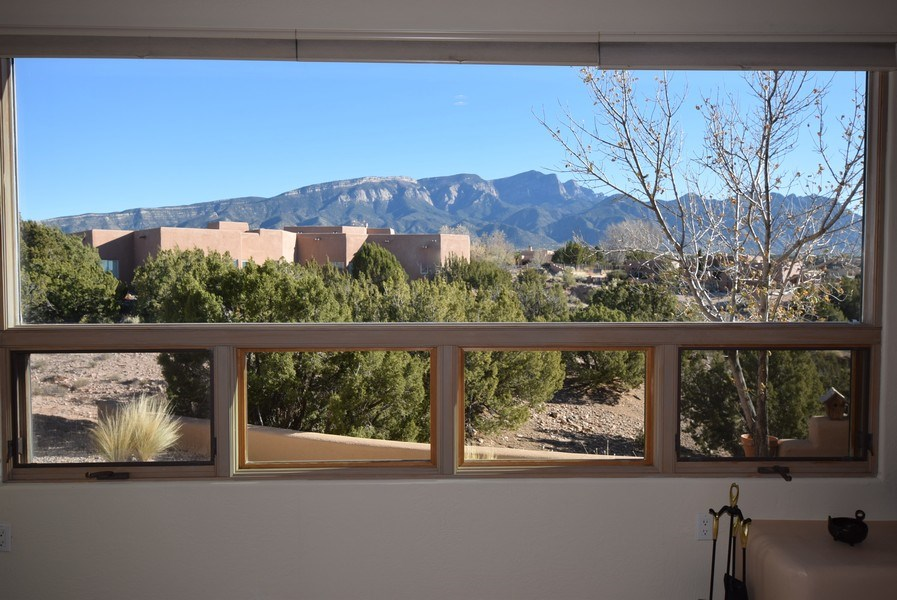 Real Estate Photography - 14 Desert Mountain Rd, Placitas, NM, 87043 - View