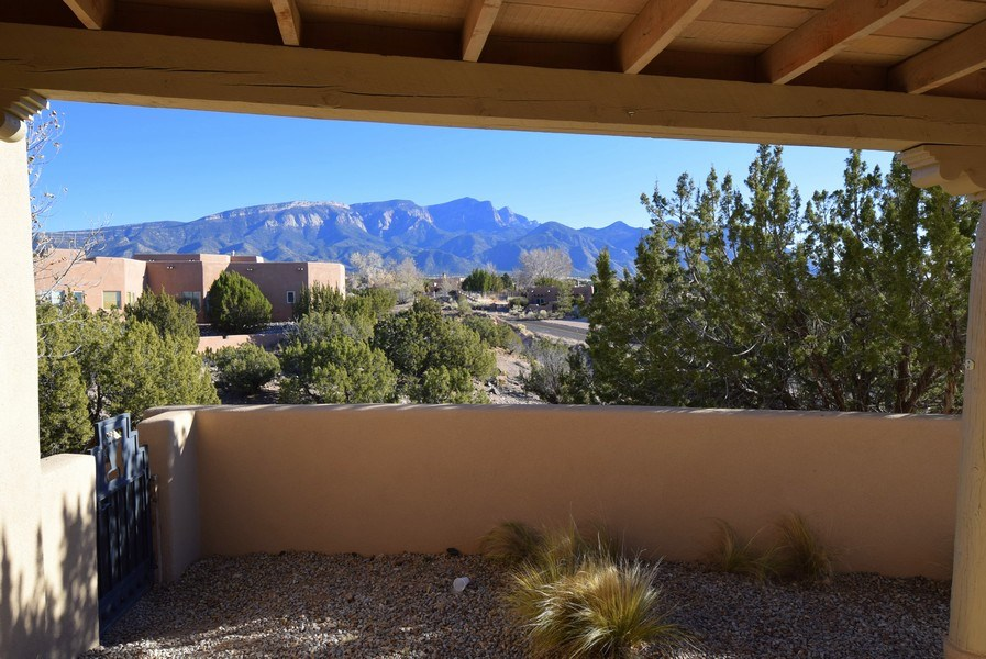 Real Estate Photography - 14 Desert Mountain Rd, Placitas, NM, 87043 - Patio
