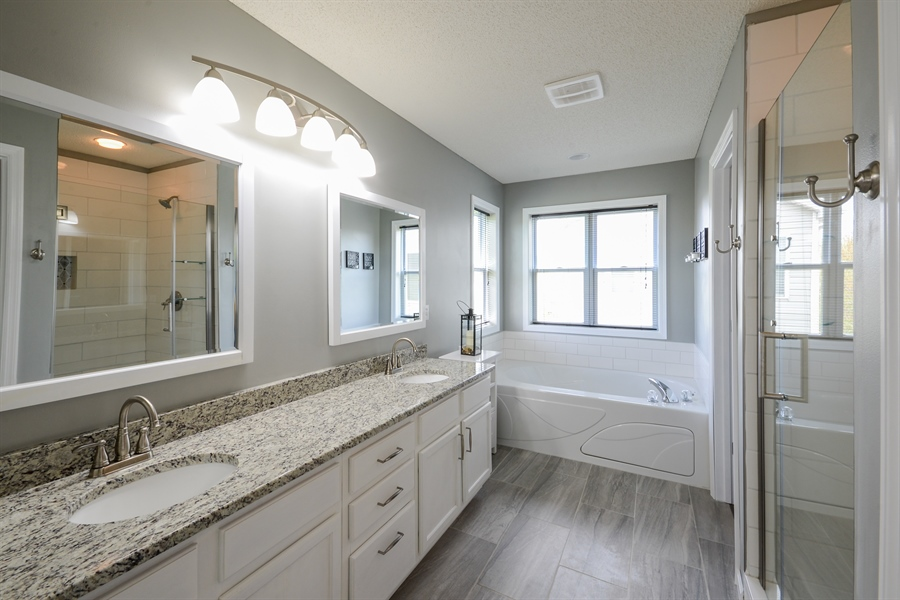 Real Estate Photography - 17101 76th Pl N, Maple Grove, MN, 55311 - Master Bathroom