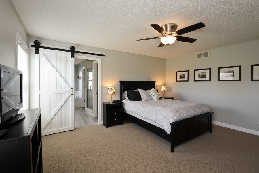 Real Estate Photography - 17101 76th Pl N, Maple Grove, MN, 55311 - Master Bedroom