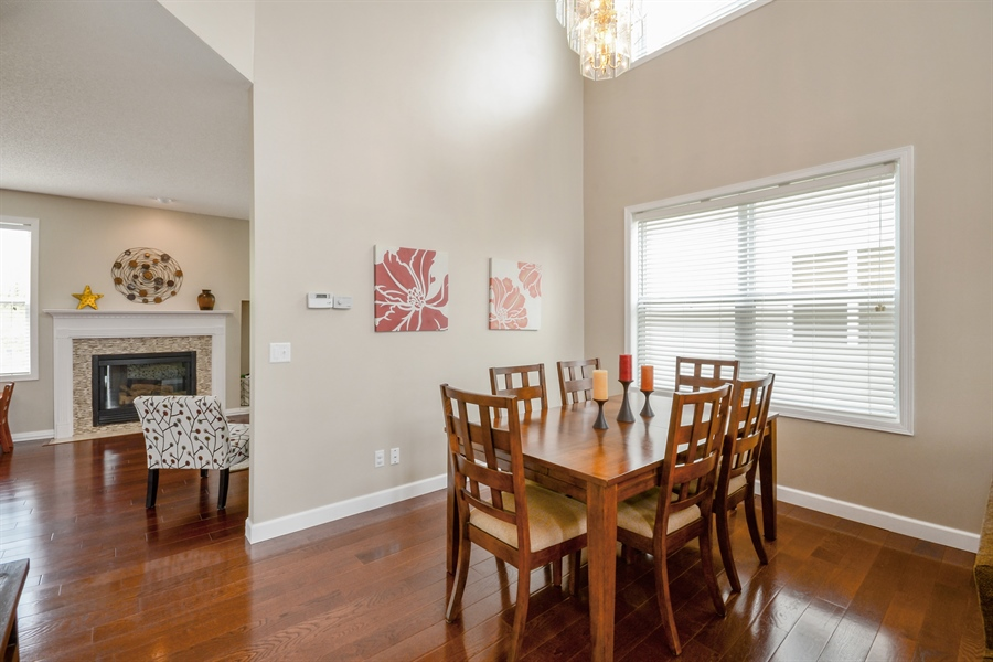 Real Estate Photography - 17101 76th Pl N, Maple Grove, MN, 55311 - Dining Room