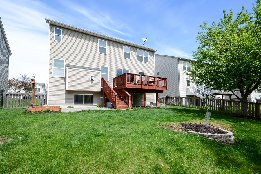 Real Estate Photography - 17101 76th Pl N, Maple Grove, MN, 55311 - Back Yard