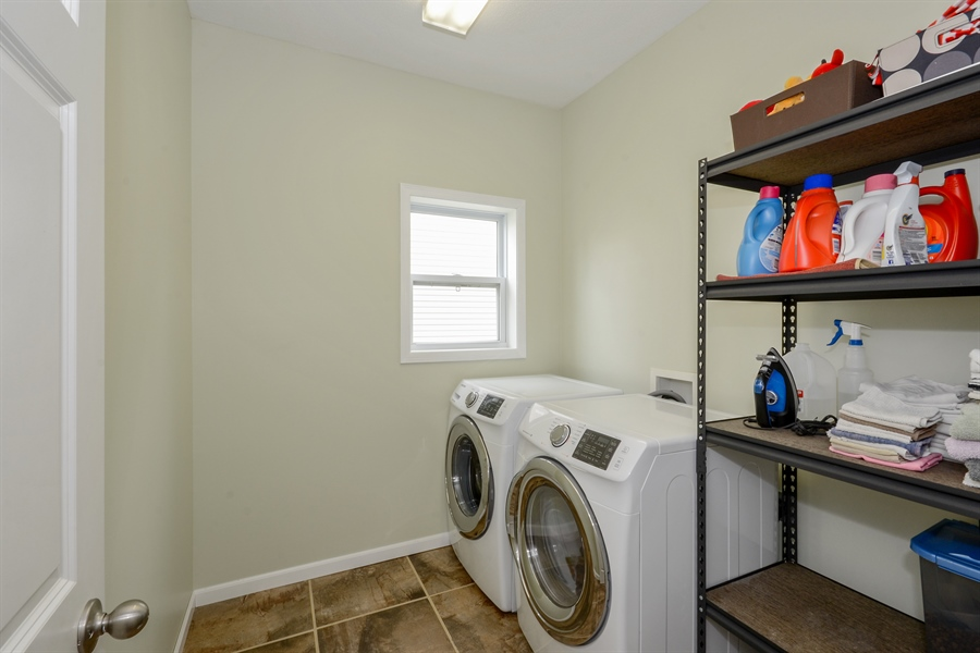 Real Estate Photography - 17101 76th Pl N, Maple Grove, MN, 55311 - Laundry Room
