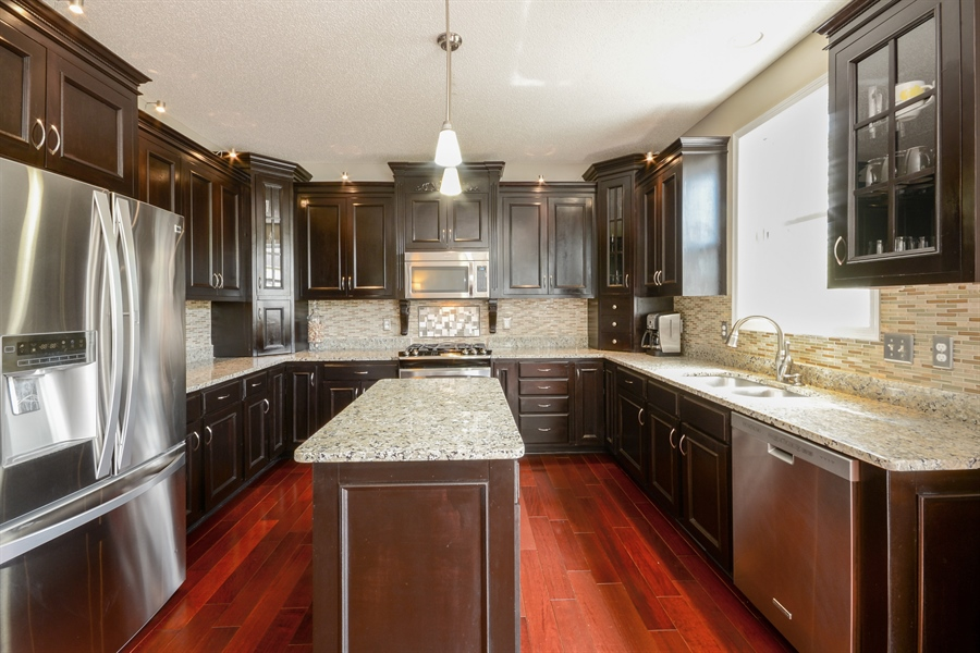Real Estate Photography - 17101 76th Pl N, Maple Grove, MN, 55311 - Kitchen