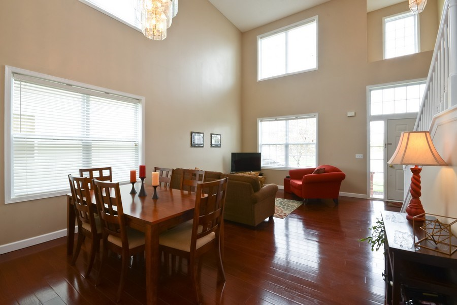 Real Estate Photography - 17101 76th Pl N, Maple Grove, MN, 55311 - Living Room/Dining Room