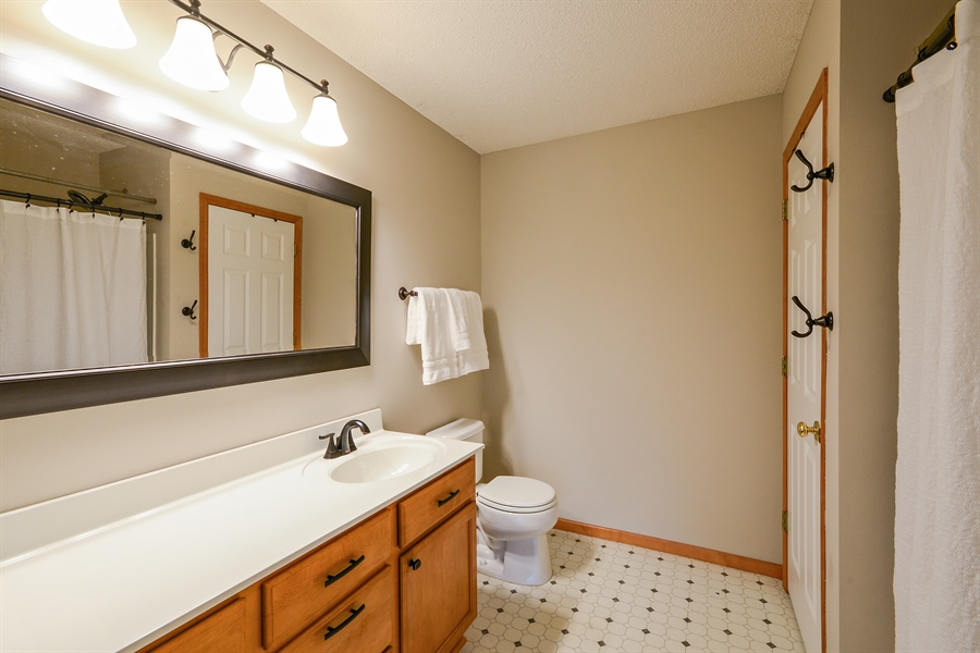Real Estate Photography - 207 Cherrywood Ave, Saint Michael, MN, 55376 - Master Bathroom