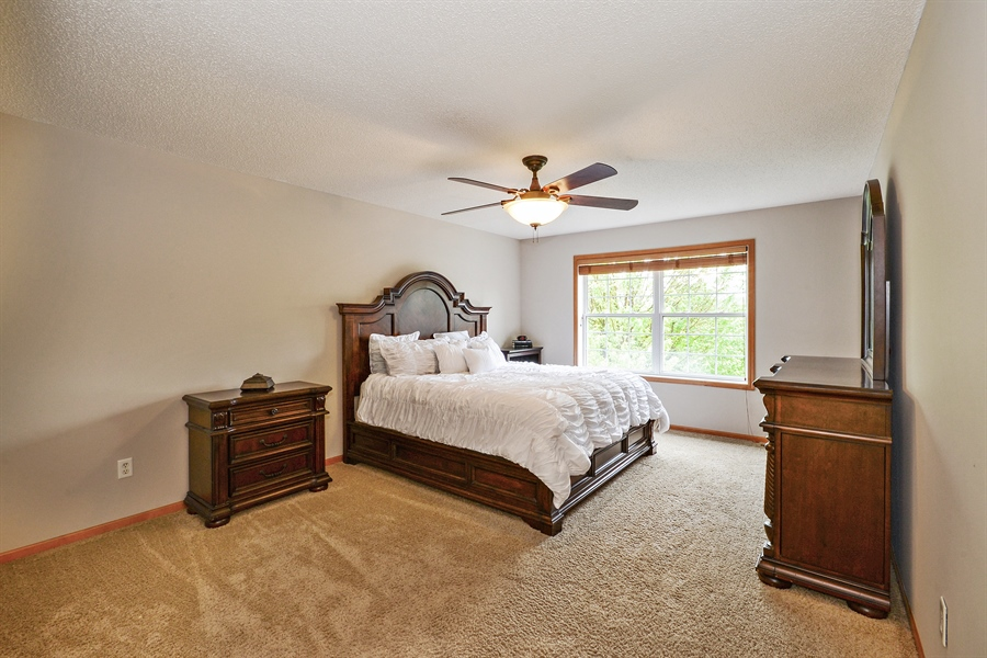 Real Estate Photography - 207 Cherrywood Ave, Saint Michael, MN, 55376 - Master Bedroom