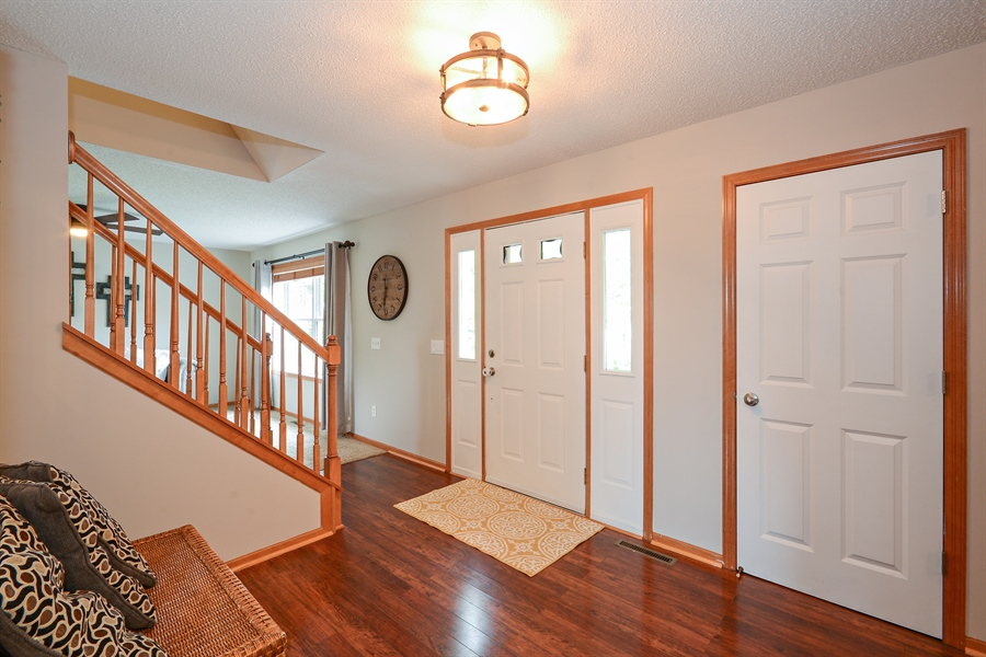 Real Estate Photography - 207 Cherrywood Ave, Saint Michael, MN, 55376 - Foyer
