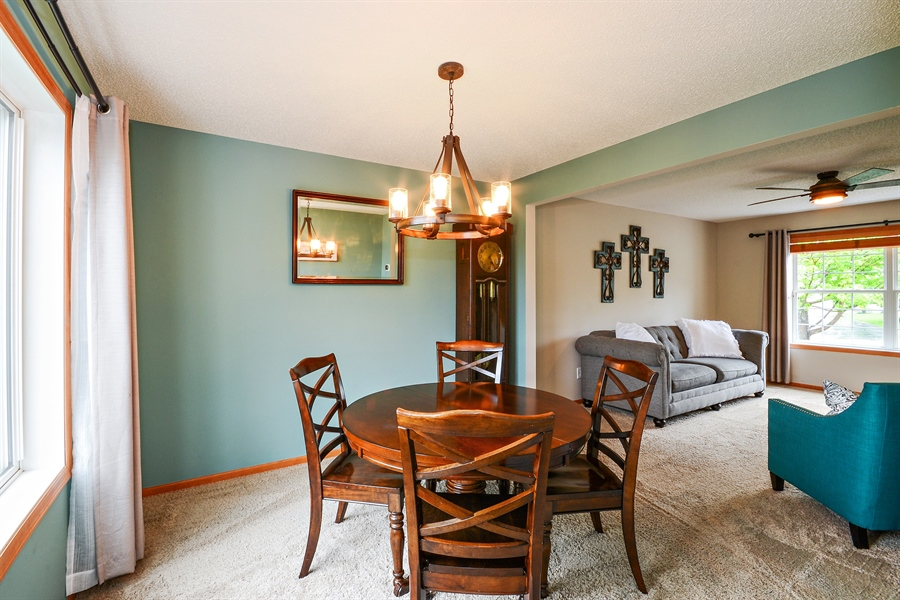 Real Estate Photography - 207 Cherrywood Ave, Saint Michael, MN, 55376 - Dining Room