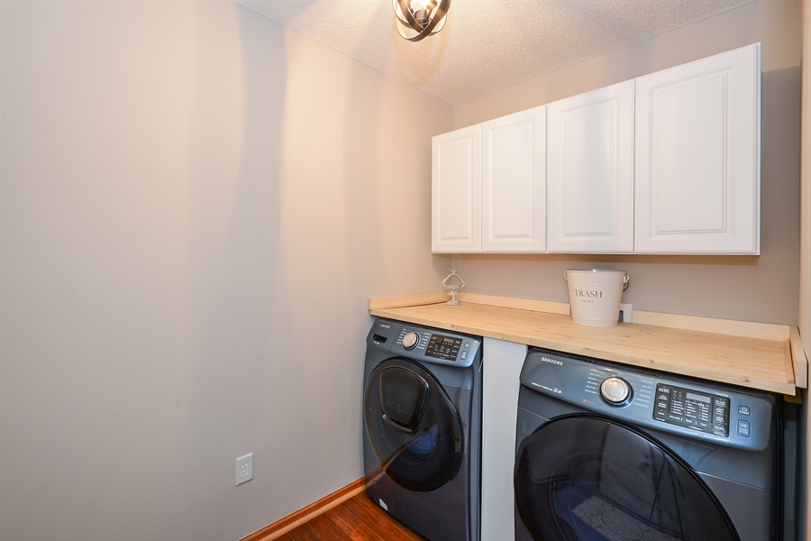 Real Estate Photography - 207 Cherrywood Ave, Saint Michael, MN, 55376 - Laundry Room