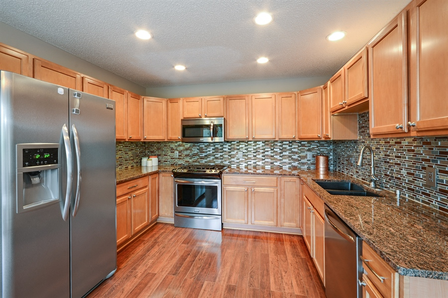 Real Estate Photography - 207 Cherrywood Ave, Saint Michael, MN, 55376 - Kitchen