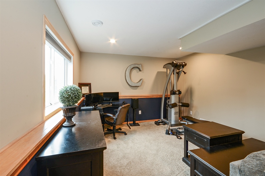 Real Estate Photography - 207 Cherrywood Ave, Saint Michael, MN, 55376 - Office