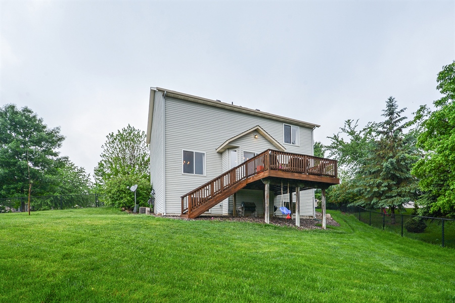 Real Estate Photography - 207 Cherrywood Ave, Saint Michael, MN, 55376 - Rear View