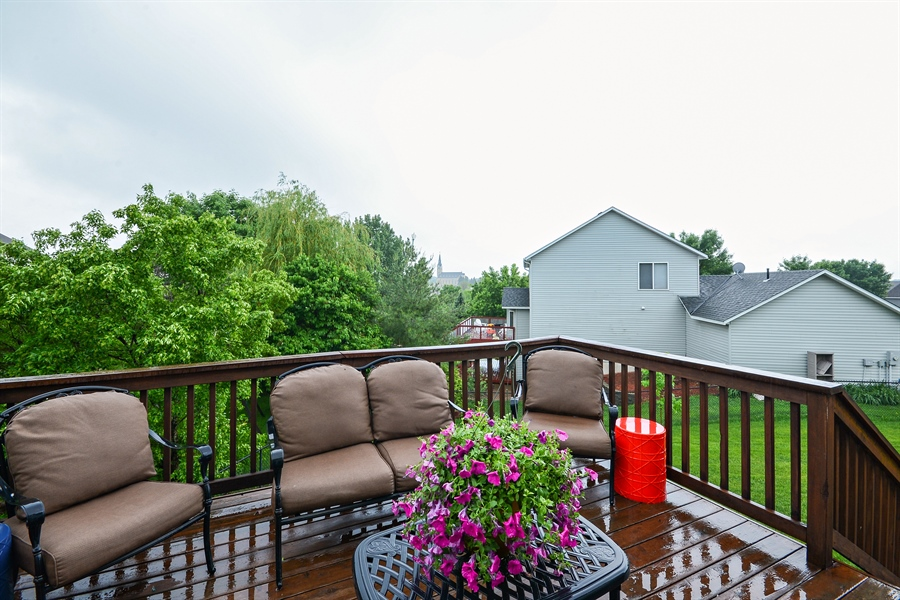 Real Estate Photography - 207 Cherrywood Ave, Saint Michael, MN, 55376 - Deck