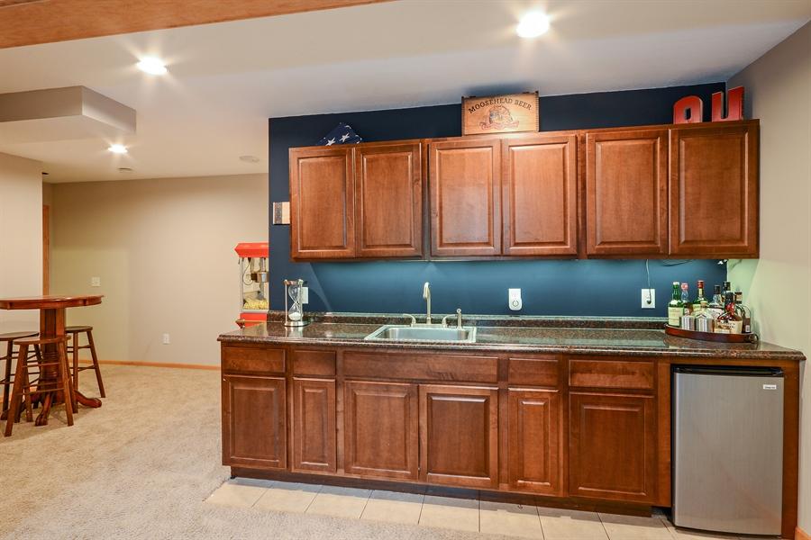 Real Estate Photography - 207 Cherrywood Ave, Saint Michael, MN, 55376 - Bar