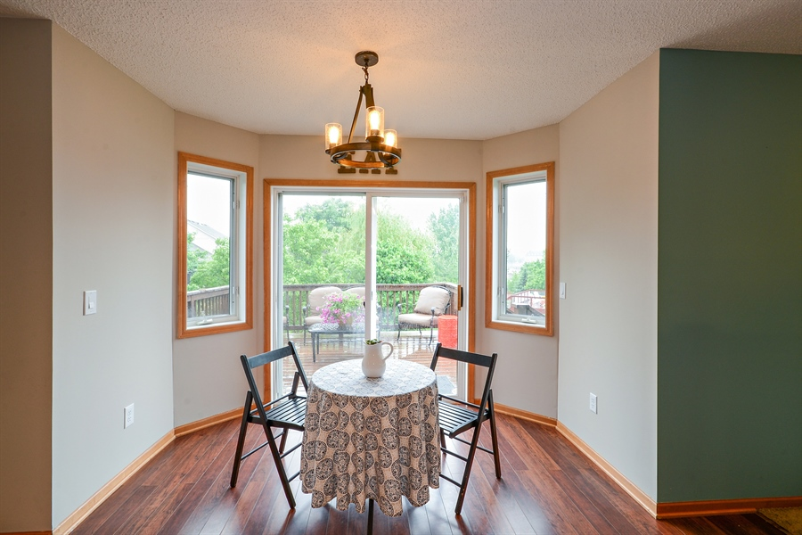 Real Estate Photography - 207 Cherrywood Ave, Saint Michael, MN, 55376 - Breakfast Nook