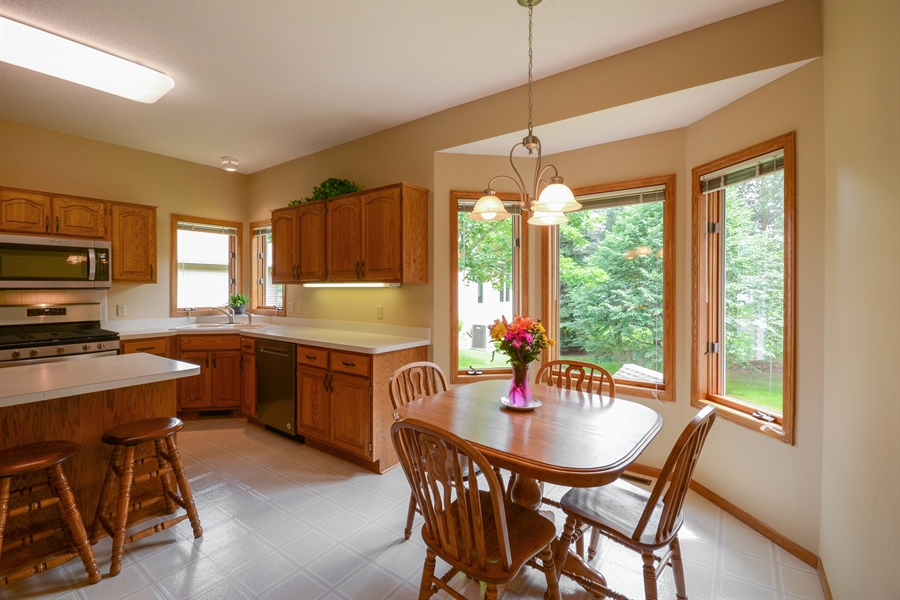 Real Estate Photography - 11761 88th Place North, Maple Grove, MN, 55369 - Kitchen / Breakfast Room