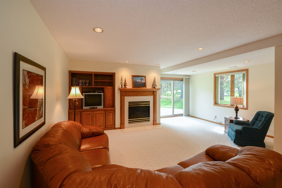 Real Estate Photography - 11761 88th Place North, Maple Grove, MN, 55369 - Family Room