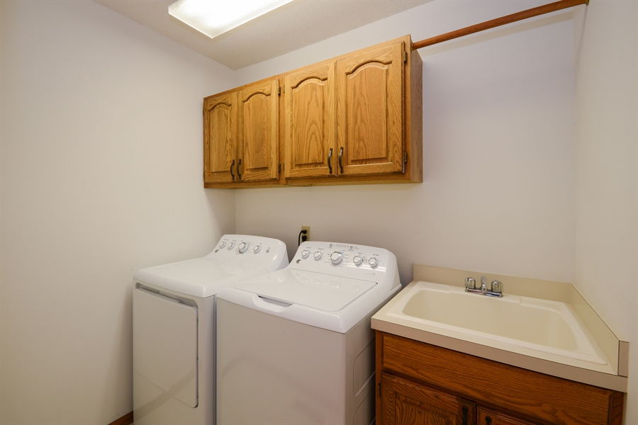 Real Estate Photography - 11761 88th Place North, Maple Grove, MN, 55369 - Laundry Room