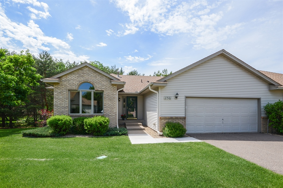 Real Estate Photography - 11761 88th Place North, Maple Grove, MN, 55369 - Front View