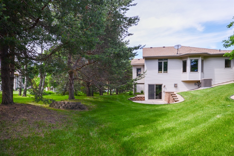 Real Estate Photography - 11761 88th Place North, Maple Grove, MN, 55369 - Rear View