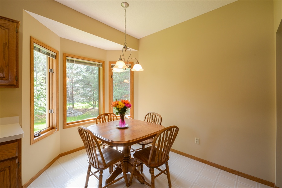 Real Estate Photography - 11761 88th Place North, Maple Grove, MN, 55369 - Breakfast Nook