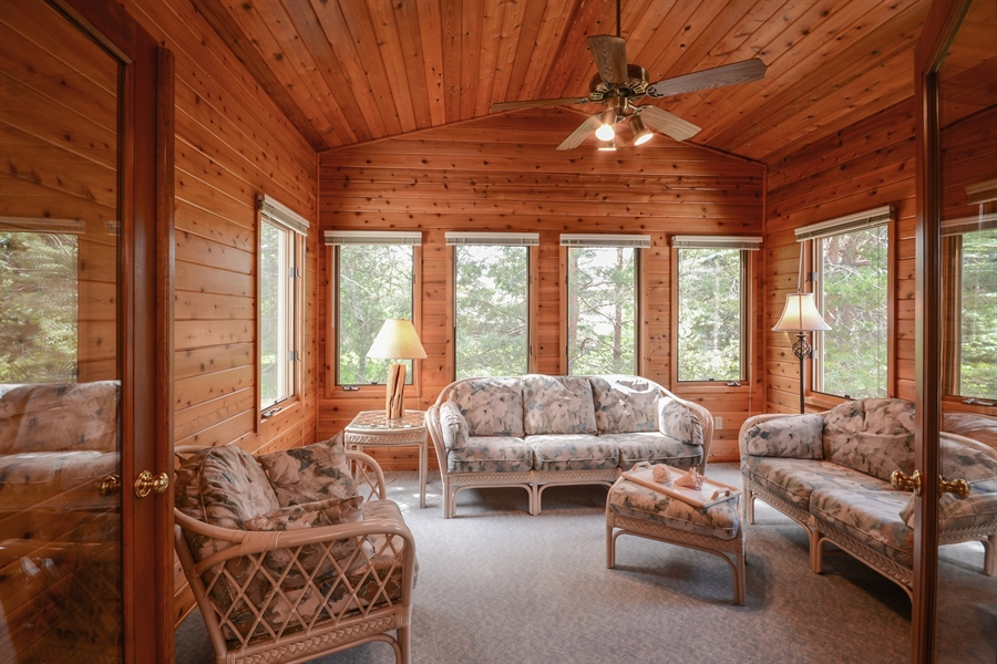 Real Estate Photography - 11761 88th Place North, Maple Grove, MN, 55369 - Sun Room