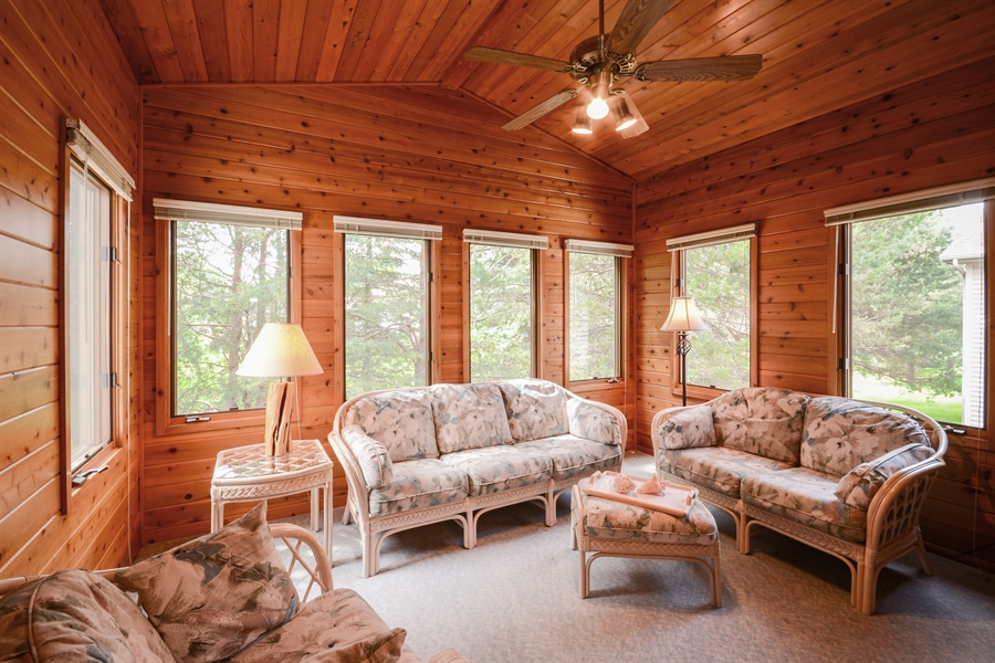 Real Estate Photography - 11761 88th Place North, Maple Grove, MN, 55369 - Sunroom