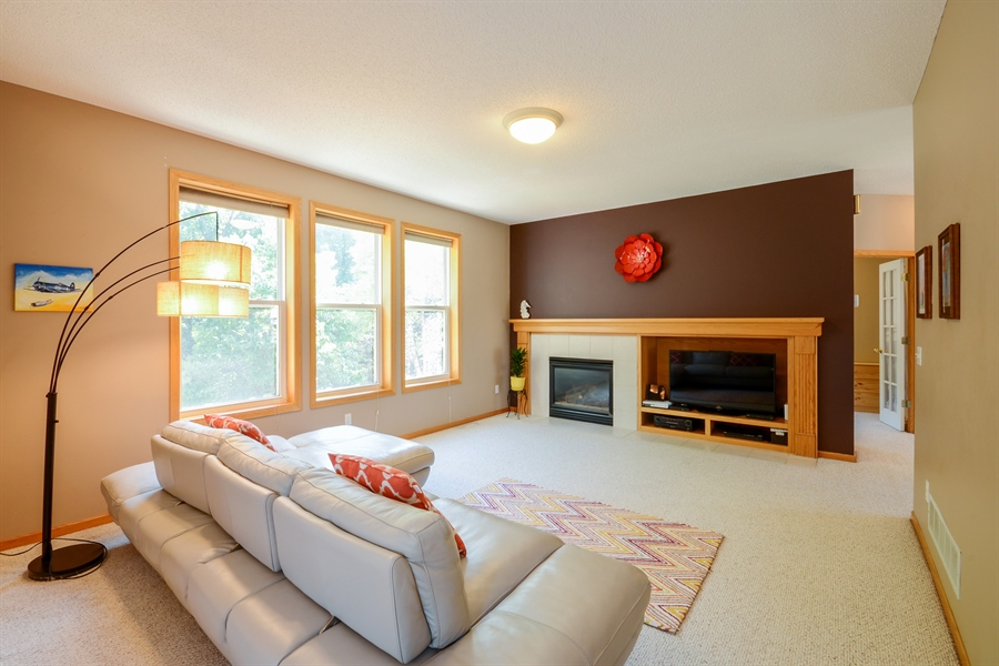 Real Estate Photography - 17805 45th AVE N, Plymouth, MN, 55446 - Living Room