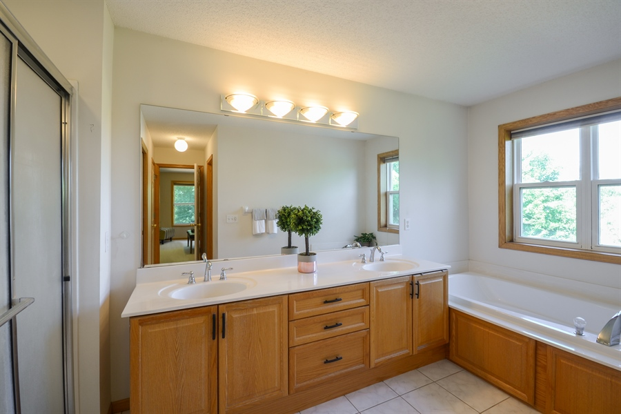 Real Estate Photography - 17805 45th AVE N, Plymouth, MN, 55446 - Master Bathroom