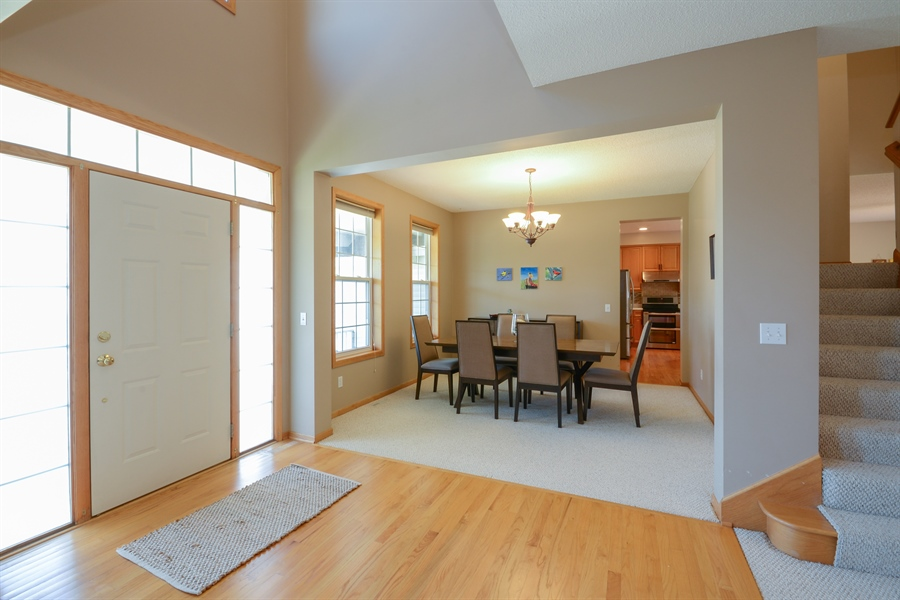 Real Estate Photography - 17805 45th AVE N, Plymouth, MN, 55446 - Foyer/Dining Room