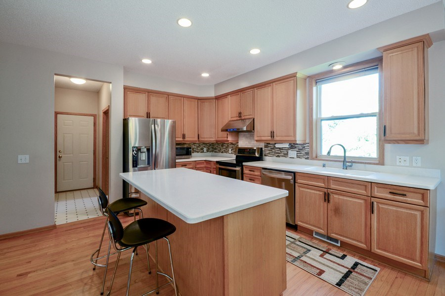 Real Estate Photography - 17805 45th AVE N, Plymouth, MN, 55446 - Kitchen