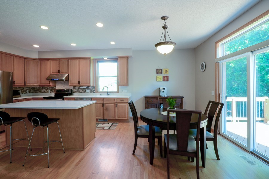 Real Estate Photography - 17805 45th AVE N, Plymouth, MN, 55446 - Kitchen / Breakfast Room