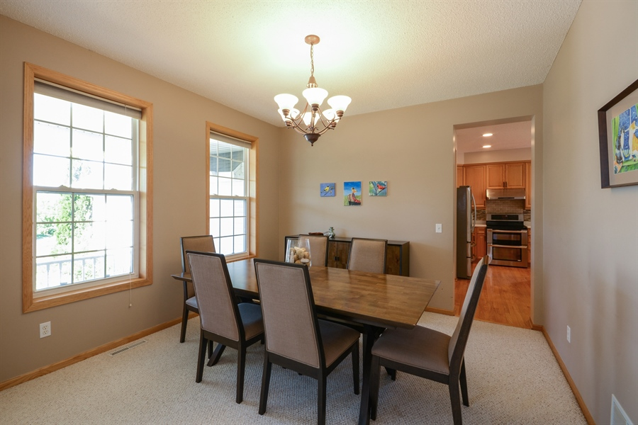 Real Estate Photography - 17805 45th AVE N, Plymouth, MN, 55446 - Dining Room