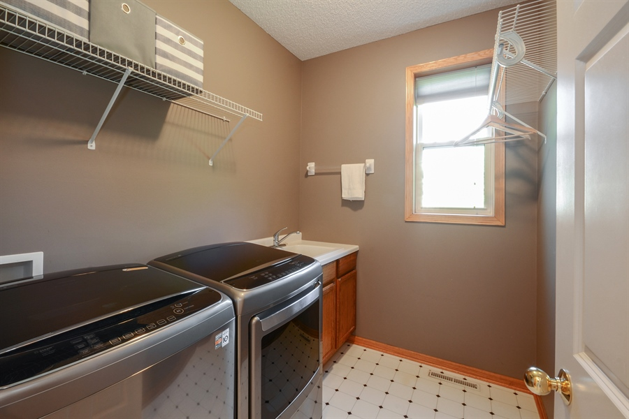 Real Estate Photography - 17805 45th AVE N, Plymouth, MN, 55446 - Laundry Room