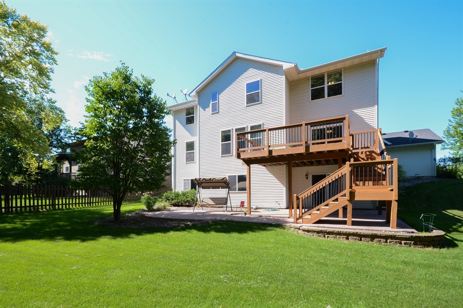 Real Estate Photography - 17805 45th AVE N, Plymouth, MN, 55446 - Rear View