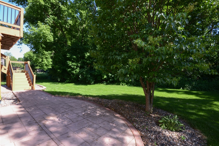 Real Estate Photography - 17805 45th AVE N, Plymouth, MN, 55446 - Patio