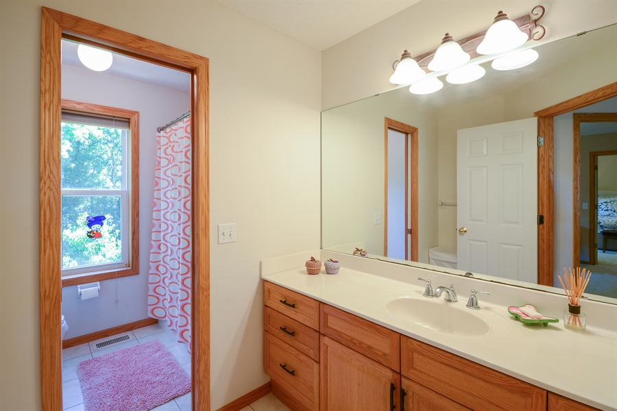 Real Estate Photography - 17805 45th AVE N, Plymouth, MN, 55446 - 2nd Bathroom
