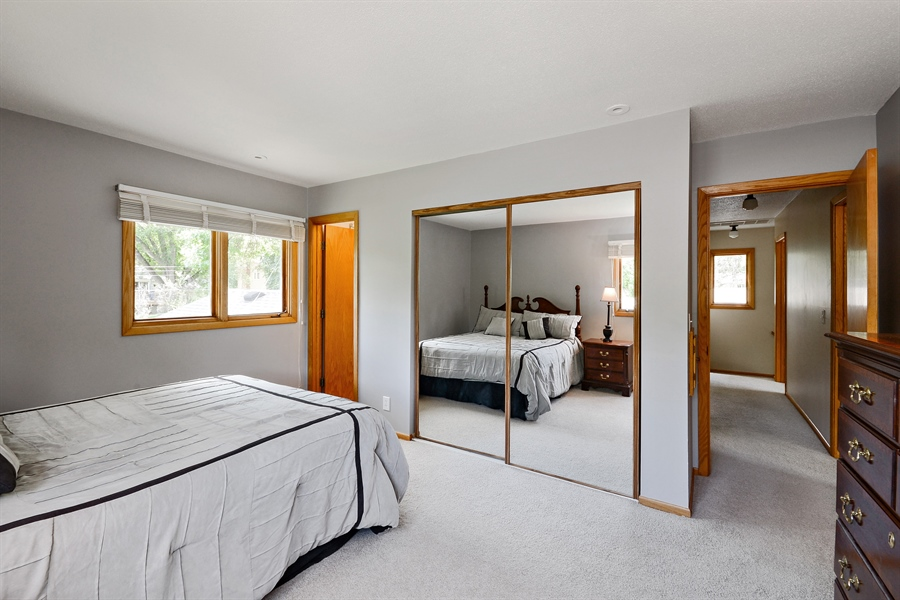Real Estate Photography - 2001 Sibley Ct, Burnsville, MN, 55337 - Master Bedroom